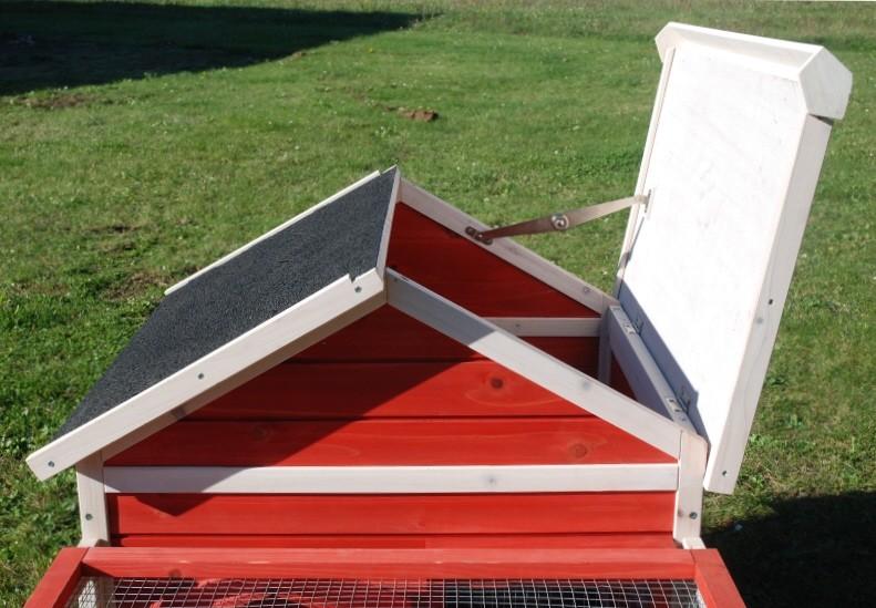 toit niche pour chien
