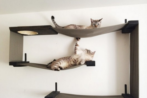 hamac pour chat design